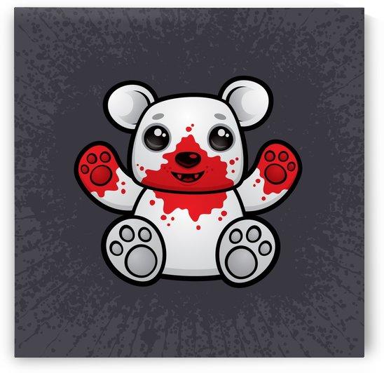 Polar Bear Cub First Kill by fizzgig