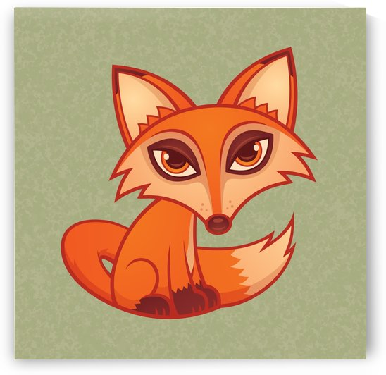 Cartoon Red Fox by fizzgig