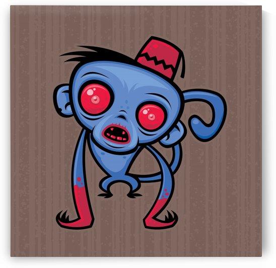 Zombie Monkey by fizzgig