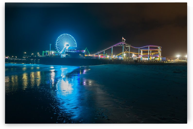 Santa Monica Pier by Noah E Geist