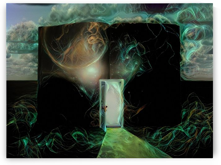 Door to another world by Bruce Rolff
