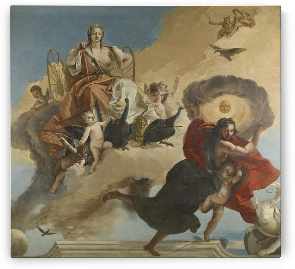 Four Saints by Giovanni Battista Tiepolo