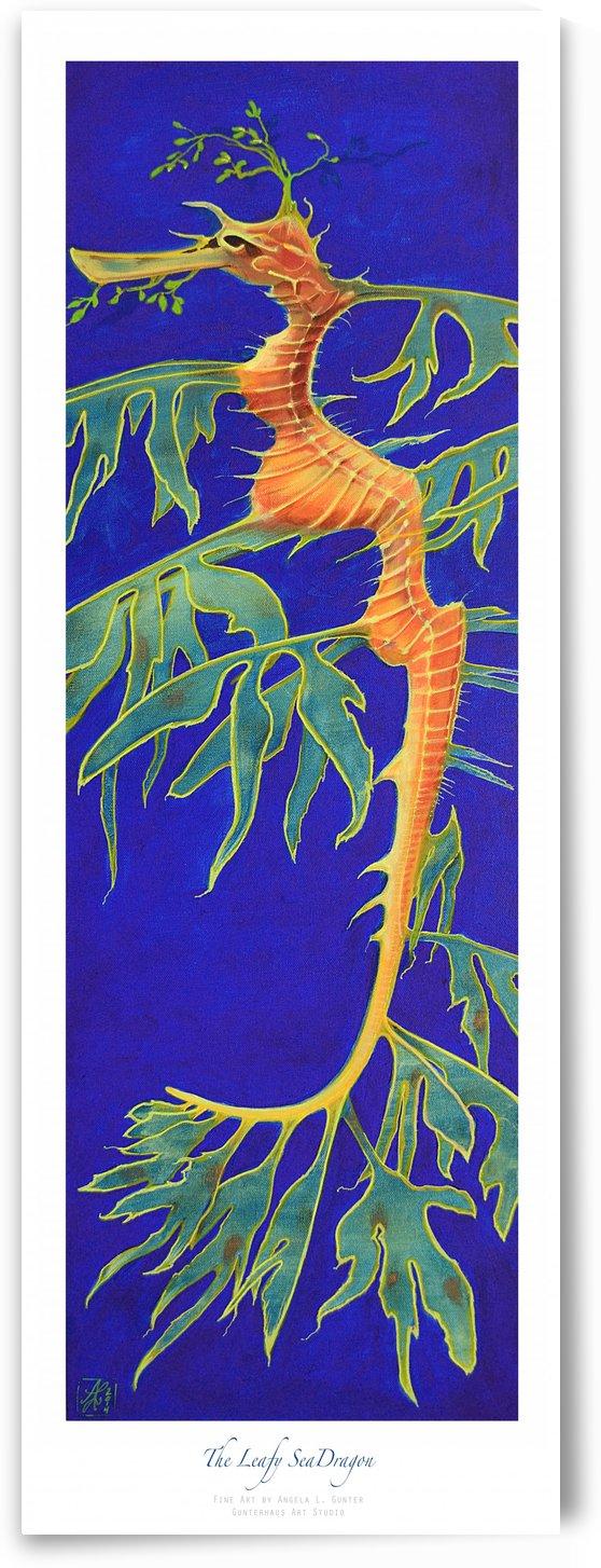 The Leafy SeaDragon by Angela Gunter Gunterhaus Art Studio