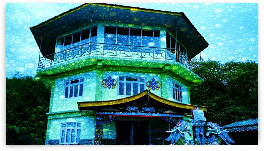 Monastery by Nilu Mishra