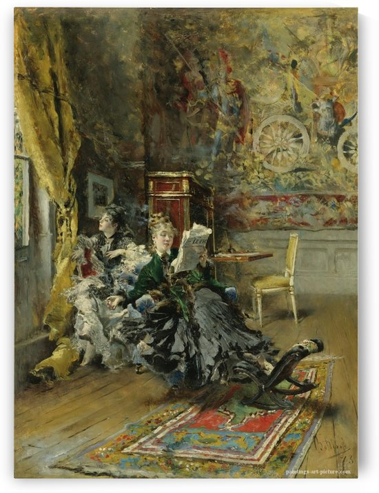 The Parisians by Giovanni Boldini