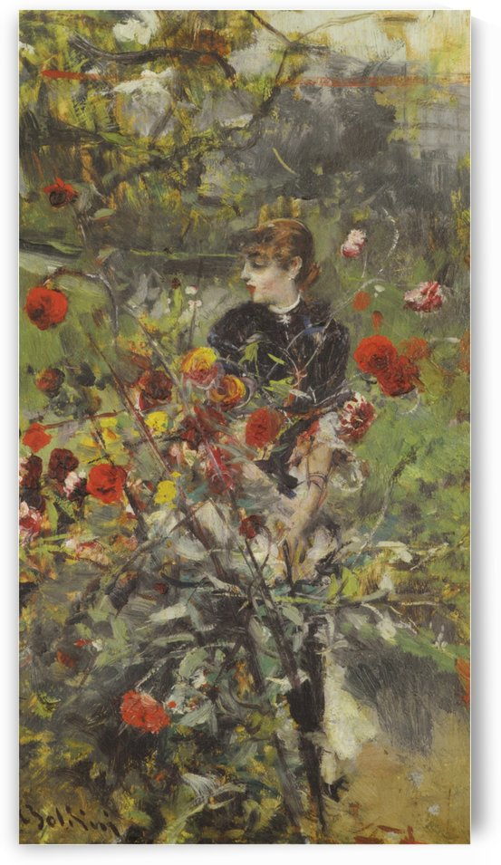 The Summer Roses by Giovanni Boldini