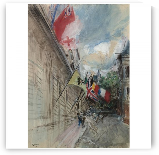 Paris, 14 July by Giovanni Boldini