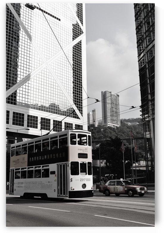Hong Kong city by Leyre