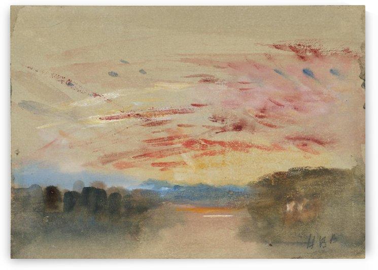Sunset by Grigory Gluckmann