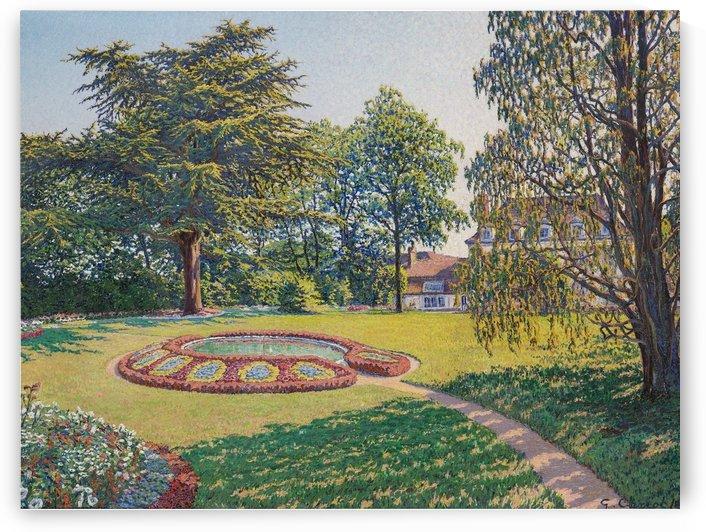 Le Parc du Chateau by Gustave Cariot