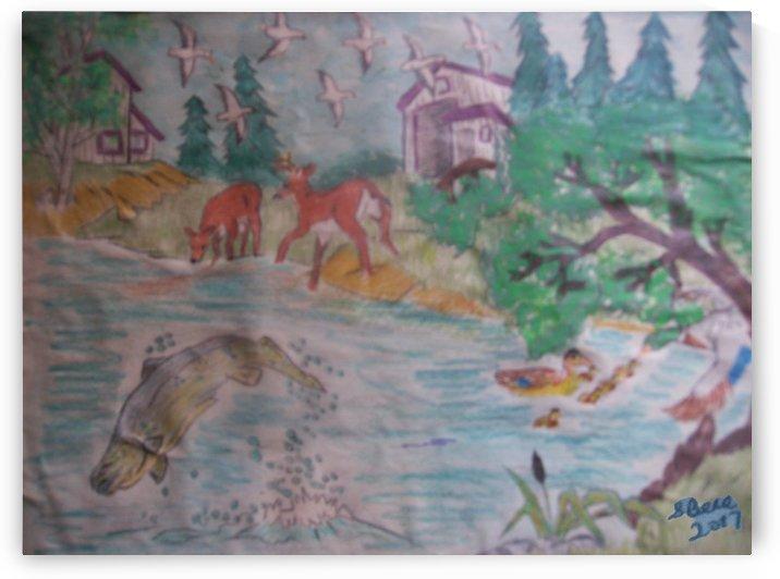 Dreamland by Bells Paintings