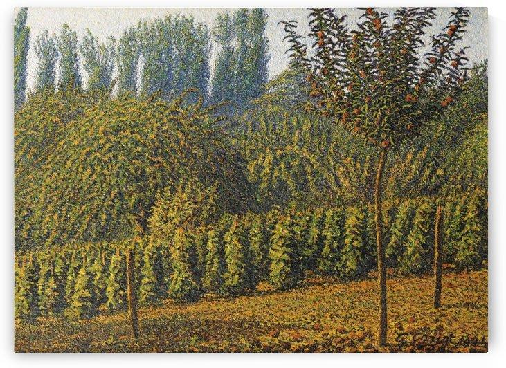 Haystacks by Gustave Cariot