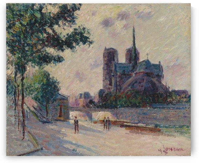 Notre-Dame de Paris by Gustave Loiseau