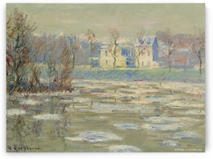 The Oise at Winter by Gustave Loiseau
