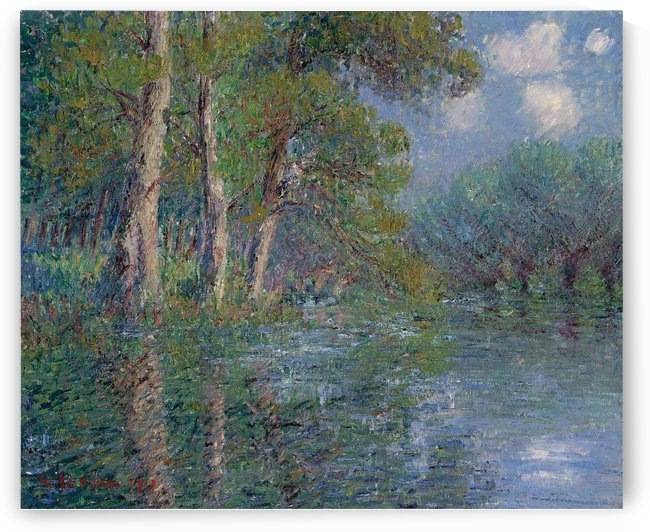 The Bend of the Eure by Gustave Loiseau