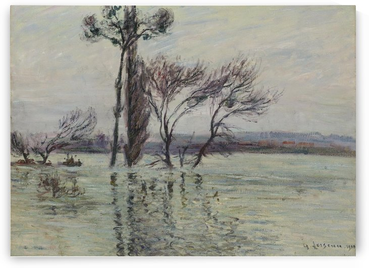 Point Ile Submerged by Gustave Loiseau