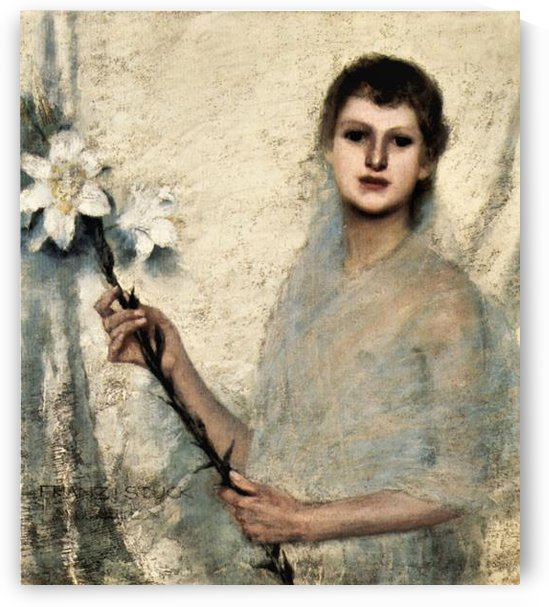 Innocence by Franz von Stuck by Franz von Stuck