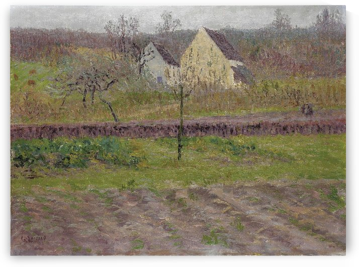 Orchard in Autumn by Gustave Loiseau