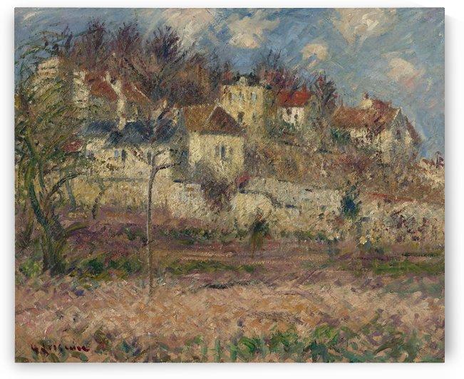 Moret-sur-Loing 02 by Gustave Loiseau