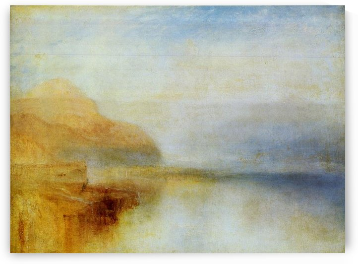 Inverarry Pier by Joseph Mallord Turner by Joseph Mallord Turner