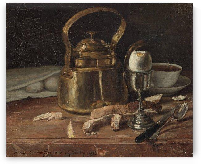 Breakfast by Henri Le Sidaner
