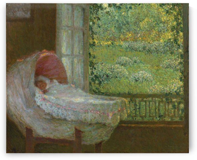 The Cradle by Henri Le Sidaner