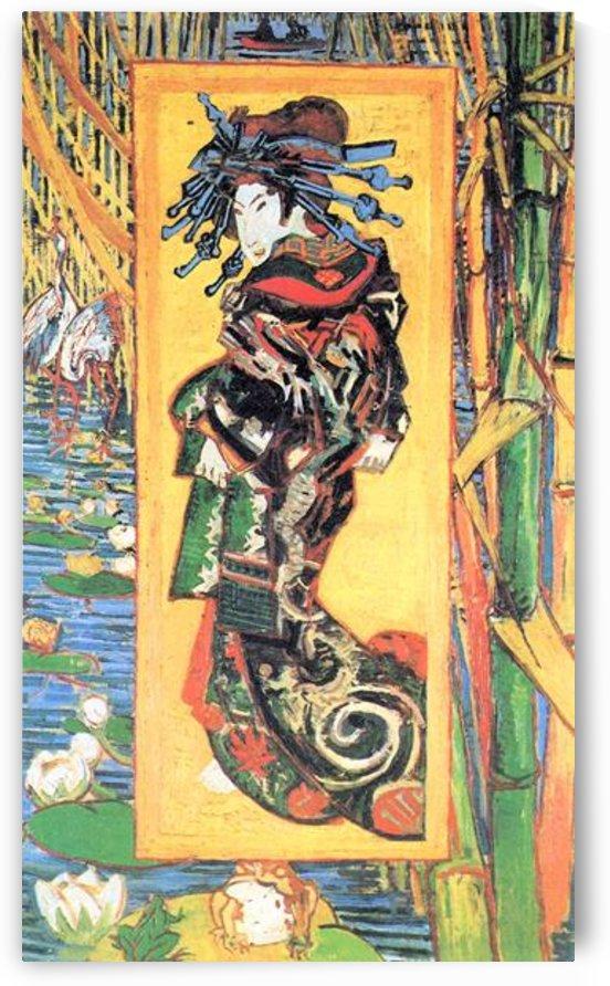 Japanese painting by Van Gogh by Van Gogh