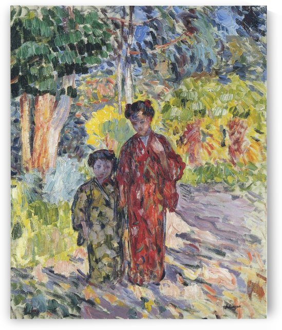 Marthe and Nono by Henri Lebasque