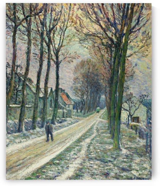 Little Street at Chessy by Henri Lebasque