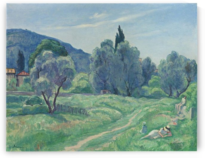 Landscape with Trees by Henri Lebasque