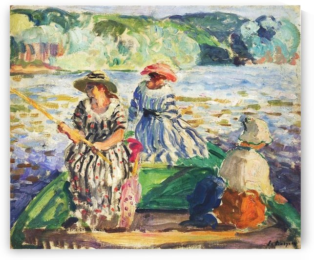The Lebasque Family near the Water by Henri Lebasque