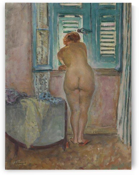 Female Naude by the Window by Henri Lebasque