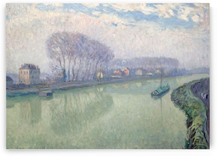 The Marne at Pomponne by Henri Lebasque