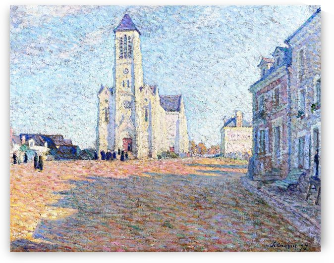 Church in the Village by Henri Lebasque