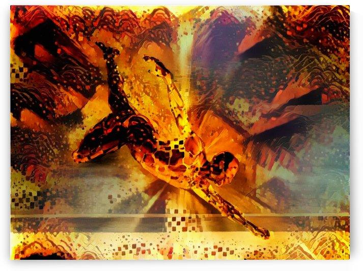 Golden Man by Bruce Rolff