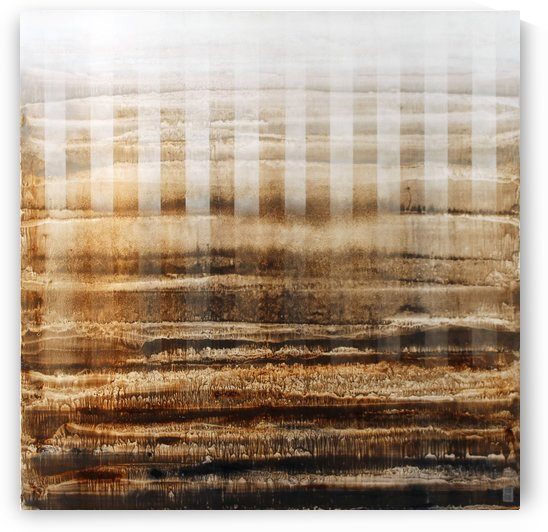 Raies vagues 1 - Contemporary Art by Vieville abstract art