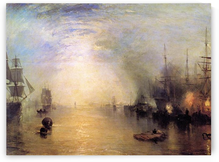 Keelmen heaving by Joseph Mallord Turner by Joseph Mallord Turner