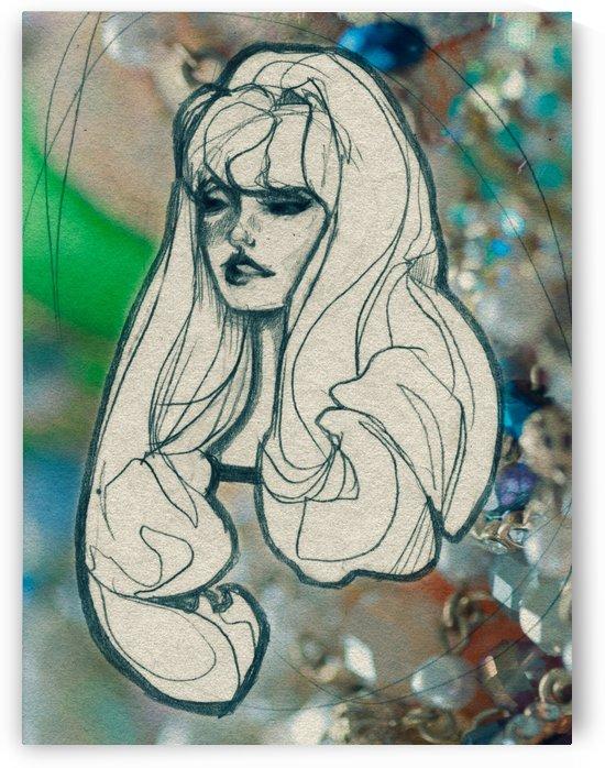 Chevelure 4 by Audrey-Anne Richard