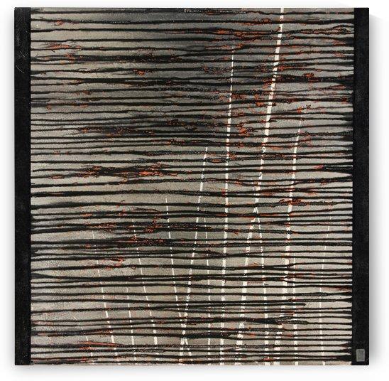 L  étang dépassé -  Contemporary Art by Vieville abstract art
