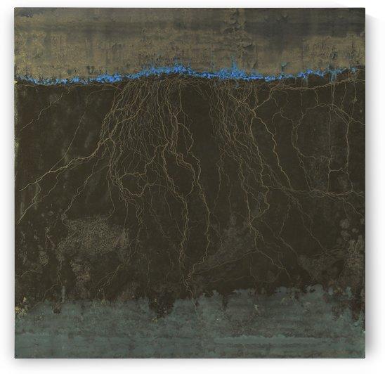 Les racines du ciel - Modern Art by Vieville abstract art