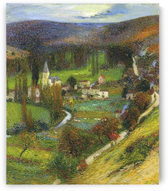 Morning Effect, Labastide-du-Vert by Henri Martin