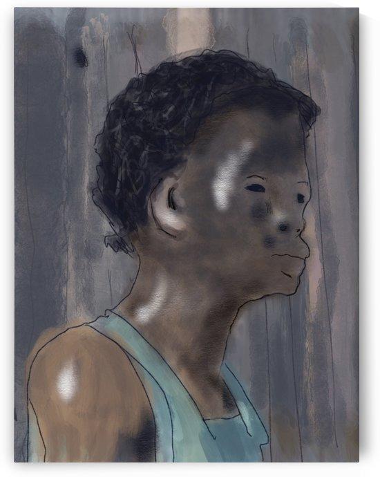 Whitney Plantation Slave Girl 5 by Harry Forsdick