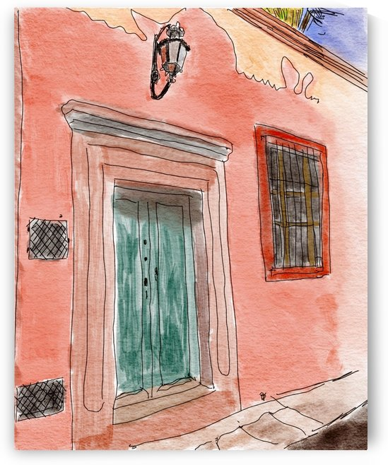 Mexico San Miguel de Allende Door 1 by Harry Forsdick