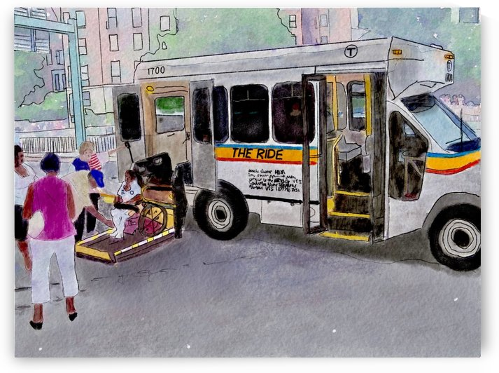 MBTA The Ride by Harry Forsdick