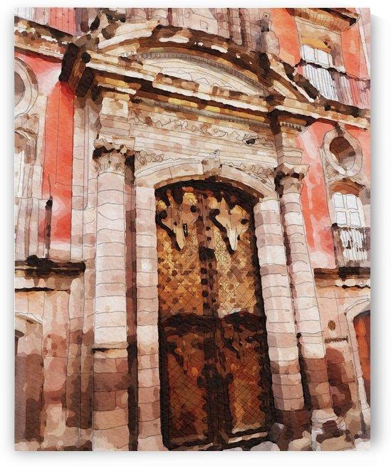 México La Casa del Mayorazgo San Miguel de Allende by Harry Forsdick