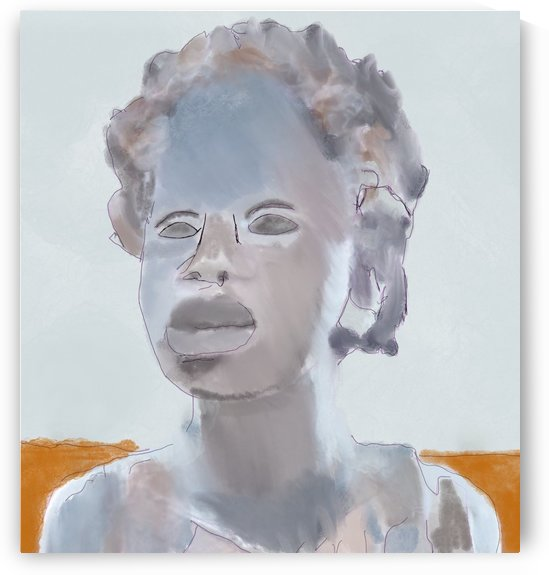 Whitney Plantation Slave Girl 2 by Harry Forsdick