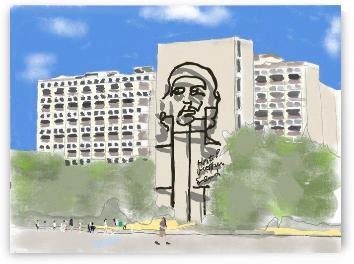 Cuba Revolution Square by Harry Forsdick