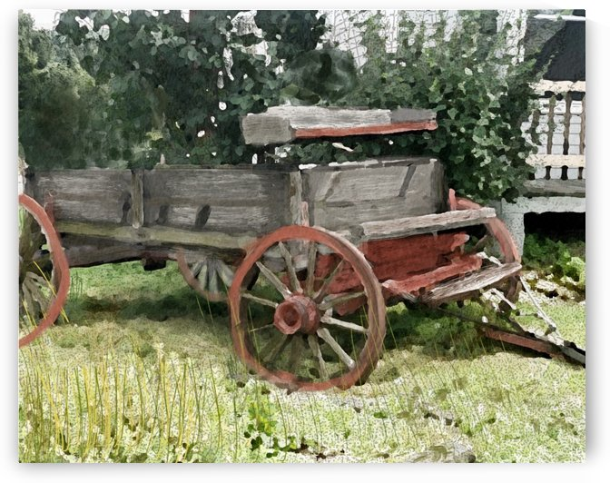 Cummington Wagon by Harry Forsdick