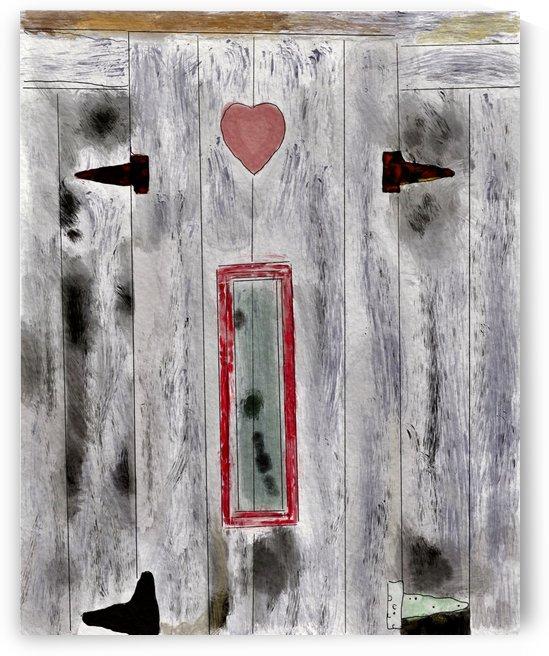 Cummington Rachels Garage Door by Harry Forsdick