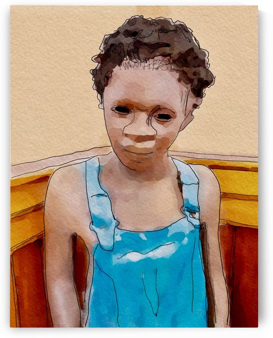 Whitney Plantation Slave Boy 1 by Harry Forsdick